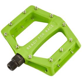 Cube RFR CMPT Flat Pedal grün